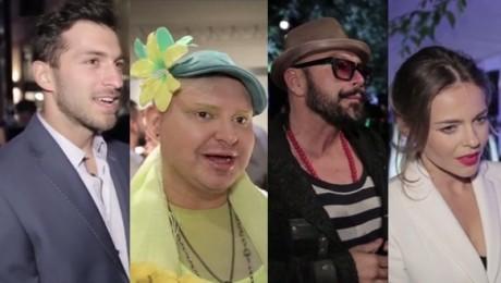 Celebryci na pokazie Gosi Baczyńskiej