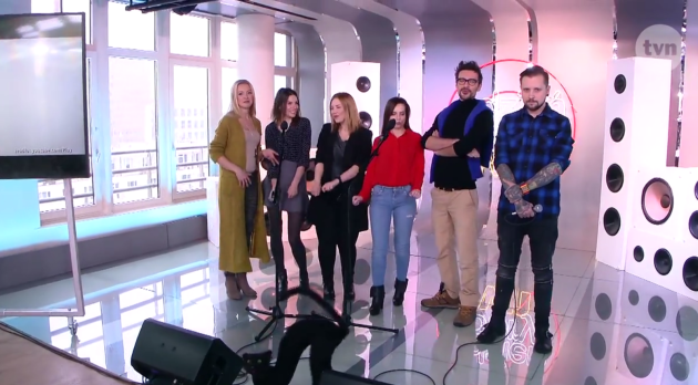 """Polscy """"Youtuberzy"""" śpiewają dla WOŚP w """"Dzień Dobry TVN"""""""
