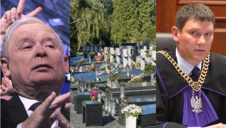 Trybunał Konstytucyjny sprawdzi czy przymusowe ekshumacje są zgodne z konstytucją Po skardze wdowca smoleńskiego