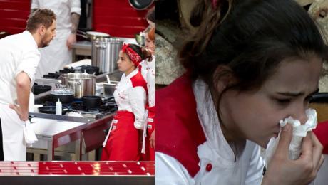 Uczestniczka Hell s Kitchen ma załamanie nerwowe