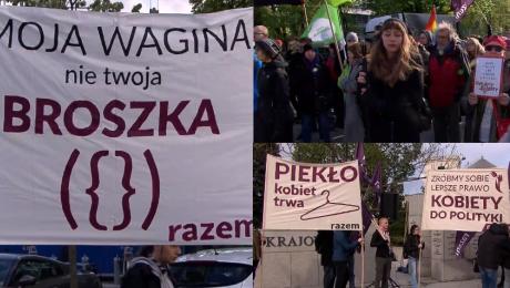 Dziś Sejm debatuje o pigułce dzień po Kobiety już protestują Minister Radziwiłł ma Polki za idiotki Mamy dość pogardy