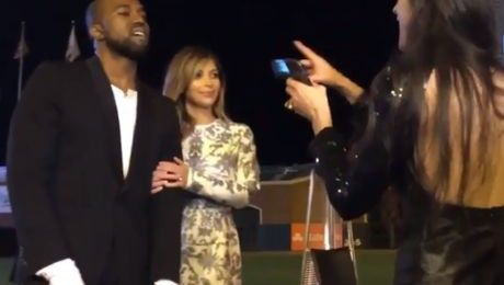 Kim Kardashian i Kanye West nagrali swoje zaręczyny