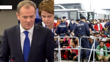 Tusk o uchodźcach Do marca musimy opanować sytuację Grozi nam rozpad strefy Schengen