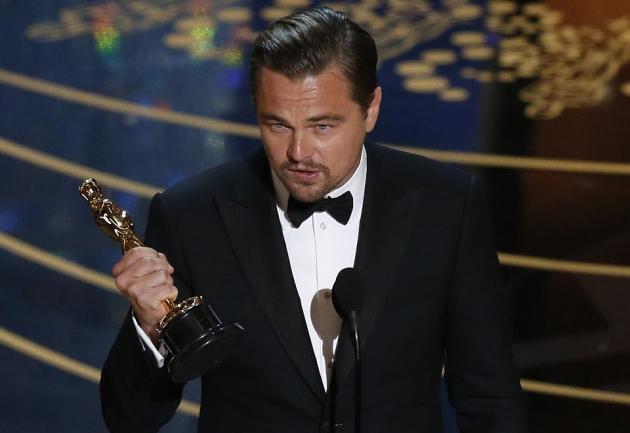 DiCaprio odbiera swojego pierwszego Oscara!