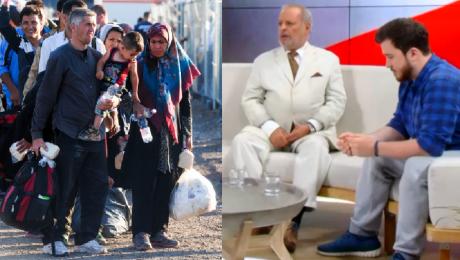 Uchodźcy w Telewizji WP W Polsce jest nowa moda żeby polować na obcego