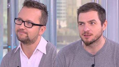 Para homoseksualistów w Dzień Dobry TVN Jest mnóstwo osób które mają frajdę że nam gejom jest gorzej