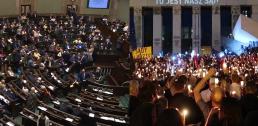 Sejm po kryjomu przyjął te ustawy podczas protestów o niezależne sądy