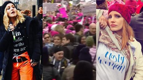Pół miliona osób na Marszu Kobiet w Waszyngtonie