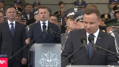 Duda milczy o reformie sądownictwa a Błaszczak oskarża Opozycja chce odebrać prawa innym