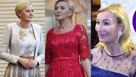 Projektantka Agaty Dudy wyznaje Nie ma stylistki Sama wybiera kreacje