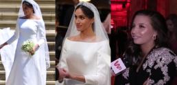 Wieniawa zachwyca się suknią ślubną Meghan Każdy się spodziewał odlotu a tu kobieta z klasą
