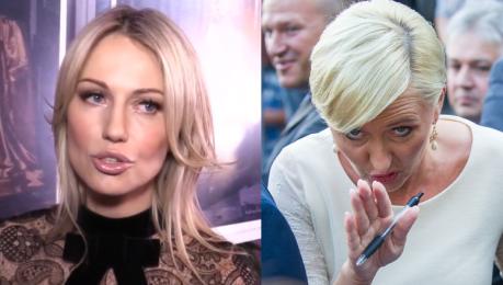 Magda Ogórek Ogromny zachwyt panią Agatą Dudą Pani prezydentowa mówi i to bardzo dużo