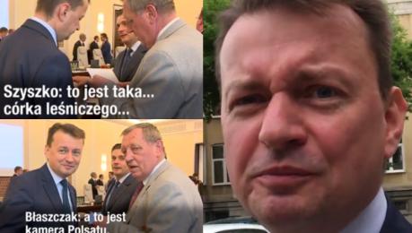 Dziennikarze WP pytają Błaszczaka o córkę leśniczego Do takich mediów nie zamierzam się wypowiadać