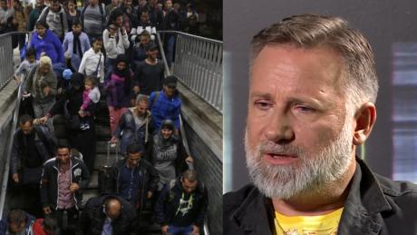 Saramonowicz Pewnie że usiadłbym w metrze obok Syryjczyka Rzadko jeżdżę metrem