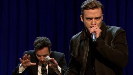 Justin Timberlake parodiuje Eminema
