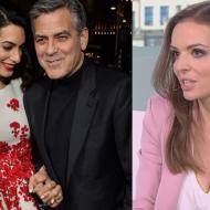 """Wendzikowska o Clooneyu: """"Będzie miał ochotę kandydować na prezydenta USA. Stąd małżeństwo z Amal, jest Syryjką!"""""""