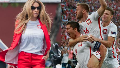 Usportowiona Małgonia Oglądam mecze reprezentacji Polski Jest presja rodziny