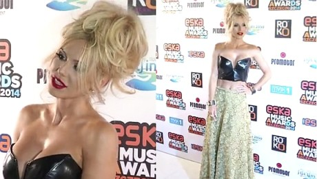 Doda pokazuje brzuch na Eska Music Awards SCHUDŁA