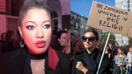 Kazadi Totalnie popieram Czarny protest Kobiety powinny mieć wolność wyboru