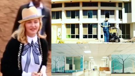 Madonna otworzyła swój szpital w Malawi Nigdy nie rezygnuj z marzeń