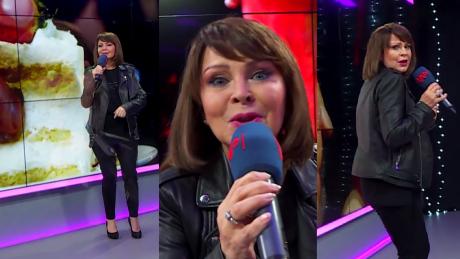 62 letnia Trojanowska śpiewa o paranojach własnych win BĘDZIE HIT