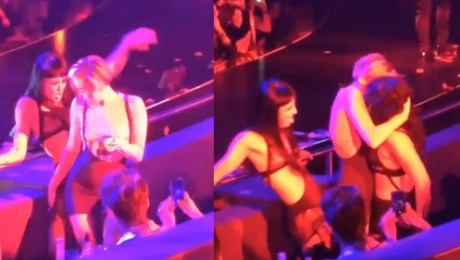 Miley OCIERA SIĘ o tancerki Britney