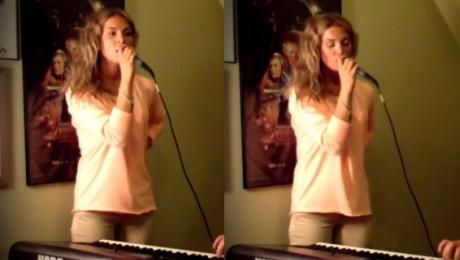 Aneta Sablik śpiewa przebój Rihanny