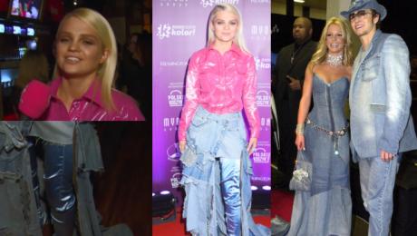 Margaret o kreacji z folii i jeansu To jest stylizacja where s my Justin Nie pytaj gdzie sięga ten kozak