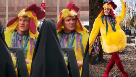 Cezary Pazura znów wraca jako kurczak WIDEO