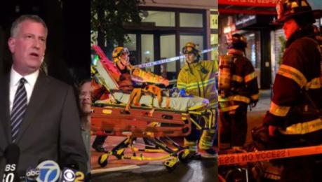 Burmistrz Nowego Jorku Wybuch wynikiem celowego działania ale to nie atak terrorystyczny
