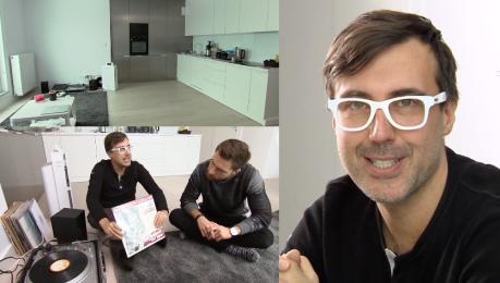 DJ Adamus pokazał mieszkanie w TVN ie Sam taras ma 70 metrów