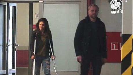 Rosati i Adamczyk wychodzą ze szpitala