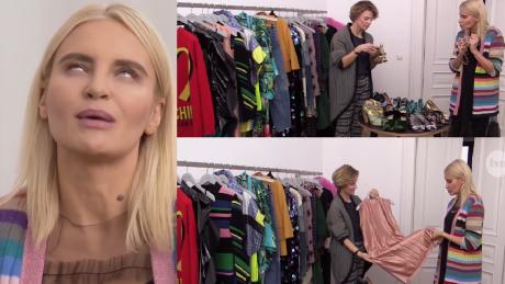 Horodyńska pokazuje szafę w Dzień Dobry TVN Nie wymyśliłam sobie stylu na potrzeby show biznesu
