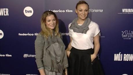Siostry Bohosiewicz na premierze
