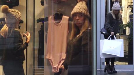 Chodakowska kupuje bieliznę w luksusowym butiku WIDEO