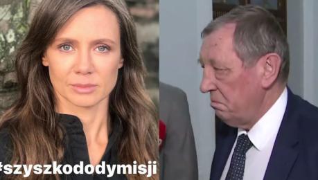 Kinga Rusin ostro o Szyszce Były minister odpowiada A KTO TO JEST KINGA RUSIN