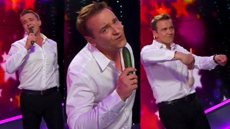 Dziś w Pudelek Show Radek Liszewski śpiewa przebój Modern Talking do ogórka