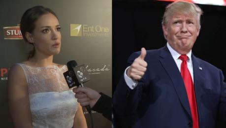 Bachleda Curuś o Trumpie Strach i nadzieja że postulaty nie dojadą do skutku Niektóre są przerażające