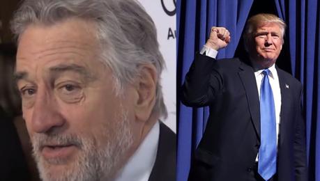 Robert De Niro o wygranej Trumpa Mam depresję
