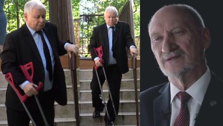 Macierewicz o zdrowiu Kaczyńskiego Twardo trzyma lejce w ręce MA SIĘ DOBRZE
