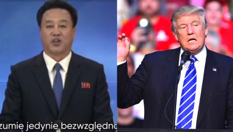 Koreańska Telewizja atakuje Trumpa To starzec bez rozumu Rozumie jedynie bezwzględną siłę