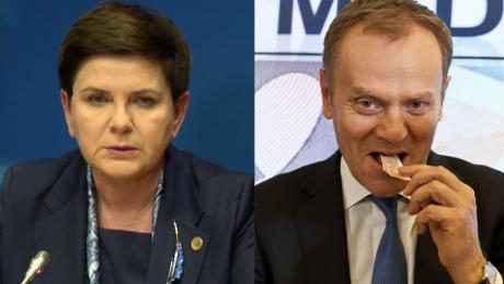 Szydło Tusk nie jest dobrym przewodniczącym Rady Europejskiej Nie może uderzać w demokratycznie wybrany rząd