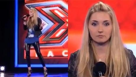 Cleo śpiewa w X Factorze