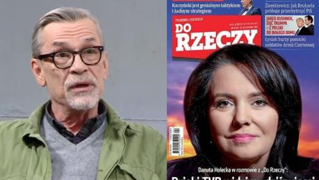 Żakowski kpi z Holeckiej Poniosło ją w wywiadzie Twarz propagandy