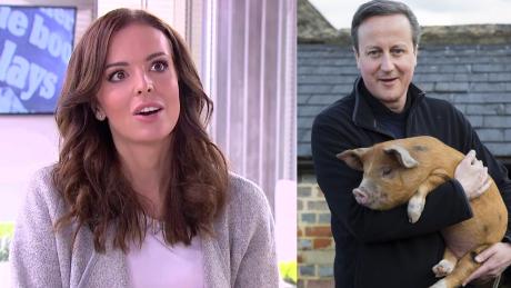 Wendzikowska o Cameronie Włożył do pyska świni Na Oxfordzie to normalne